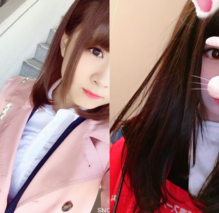 2017.4→2018.4 髪が伸びました