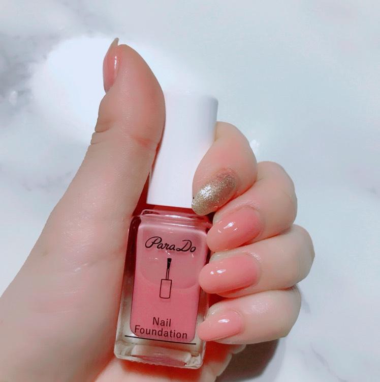 ピンクゴールドネイル♡