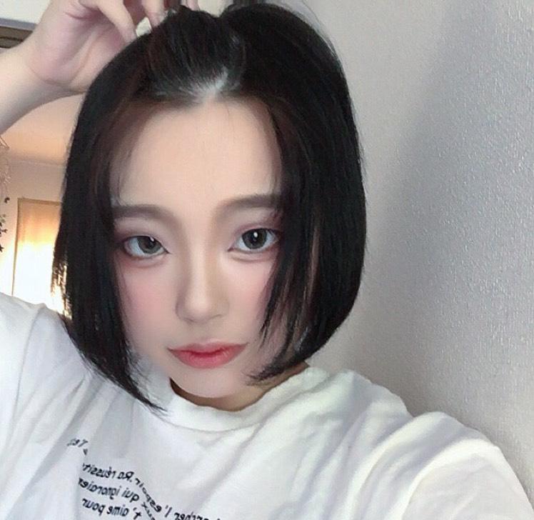 韓国メイク風?