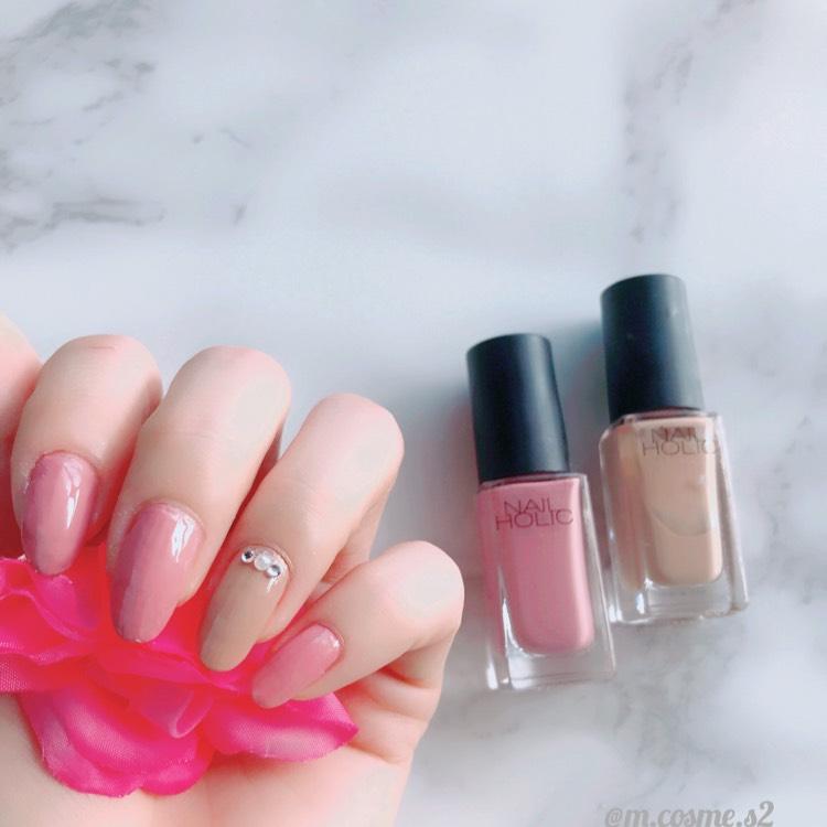 ピンクネイル♡