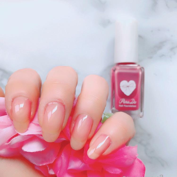 パラドゥ♡限定ピンクネイル
