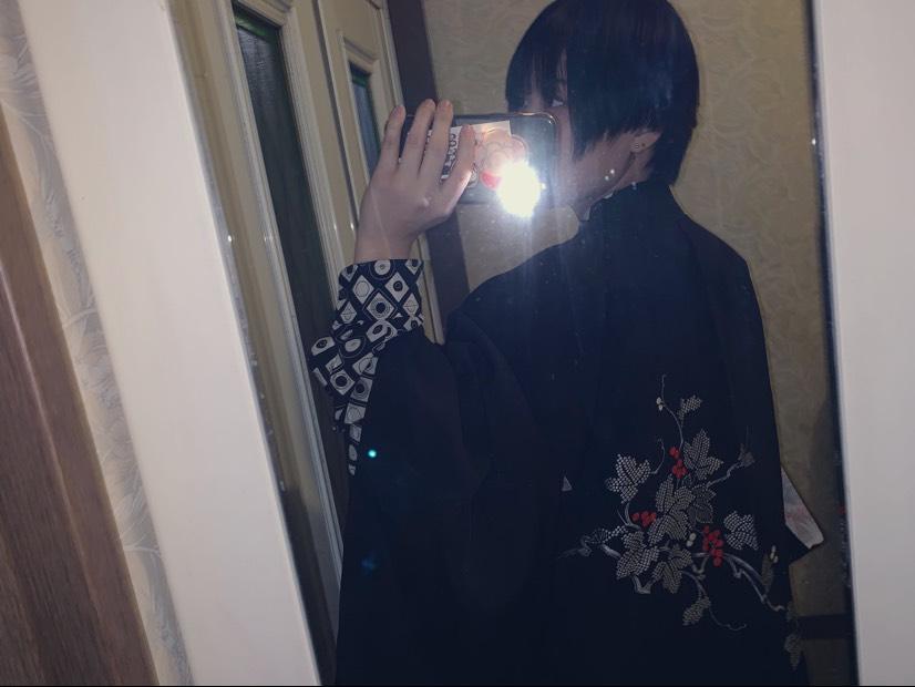 シャツ×和服