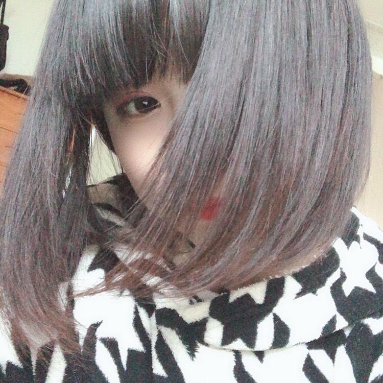 そういえば髪切ったヨ( ¨̮ )
