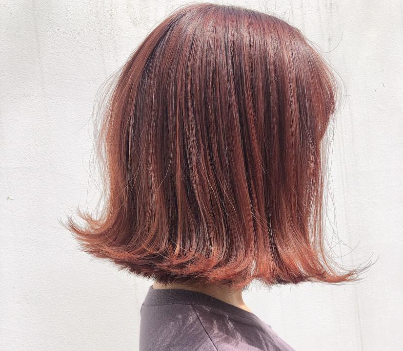 オレンジヘアー