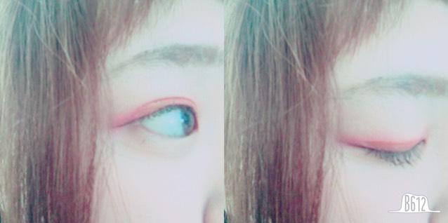 カラーメイク(red)のAfter画像
