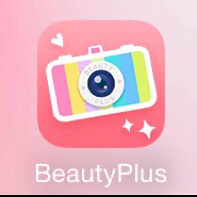 ③使うアプリ  顔のパーツを 綺麗に見せたい時は 「Beauty Plus」 を使用していきます  メイキーに投稿する時は いつもこれです♡