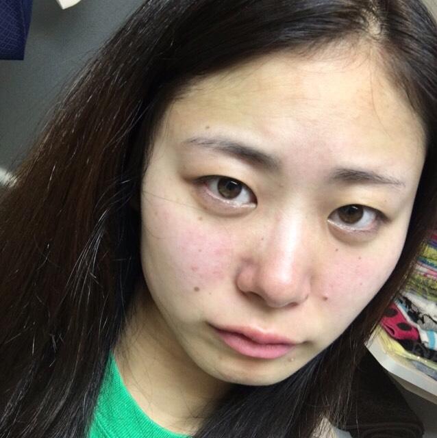 【EVERYDAY MAKE】ベースメイク編 夏仕様のBefore画像