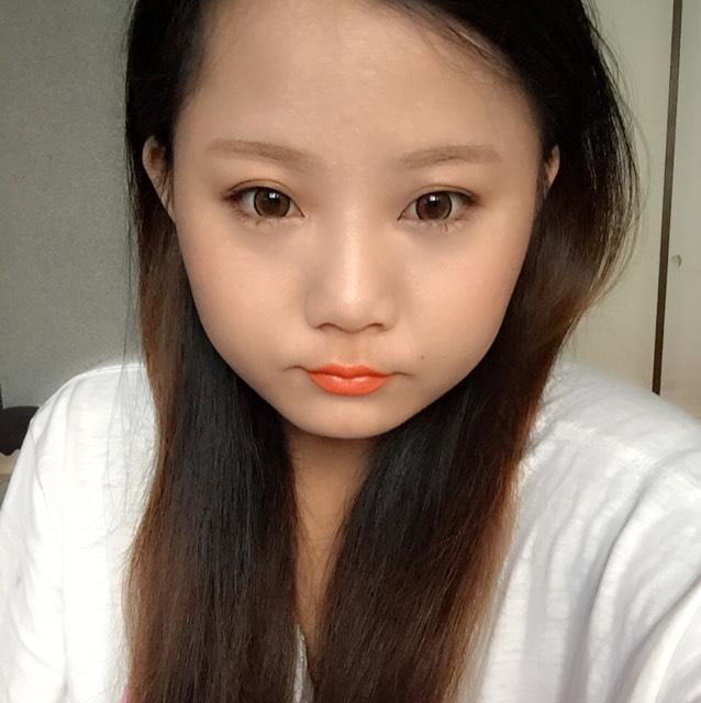 キスミーオレンジリップ♪バイトメイク