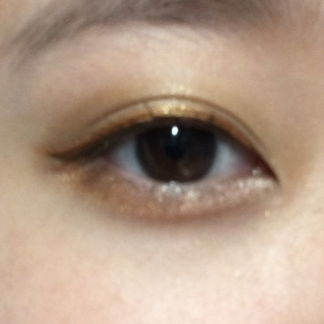 【 SUMMER MAKEUP 】カッパーオレンジ メイクのAfter画像