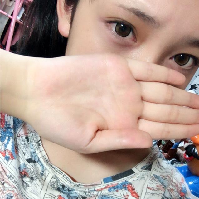 みちょぱちゃん風メイクのBefore画像