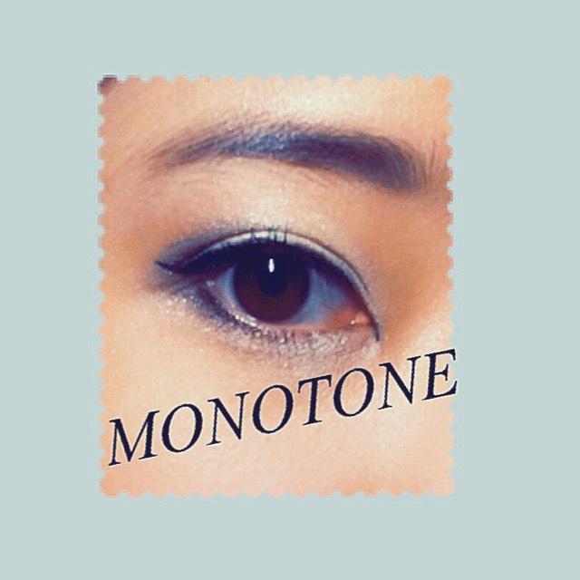 【MONOTONE EYEMAKE】