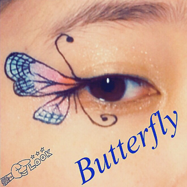 【ART EYEMAKE】〜Butterfly〜のAfter画像
