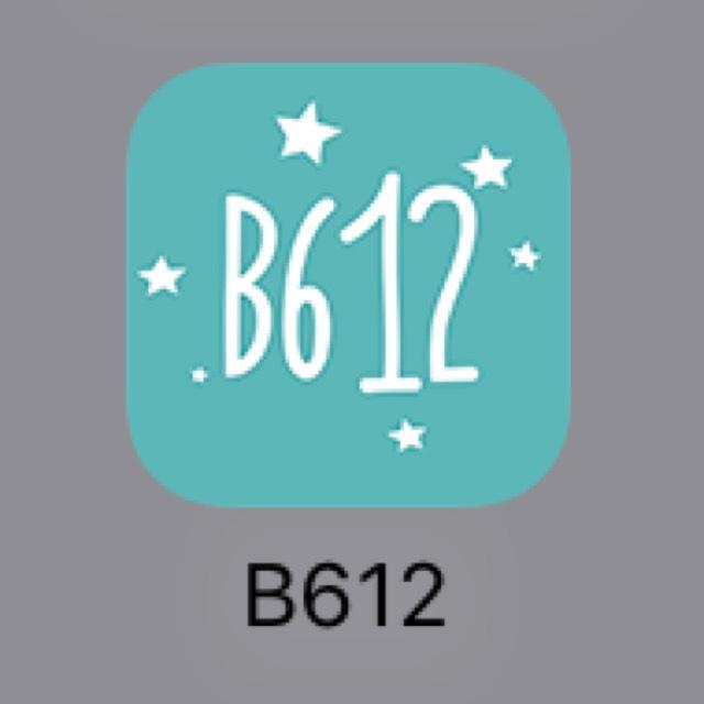 [アプリについて] 使うアプリ第3位はB612です。 フィルタが豊富で使いやすい!シャッター音がならないし、長押しすると動画が撮れるところも◎