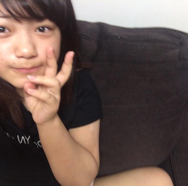 毎日メイク♡初投稿のBefore画像
