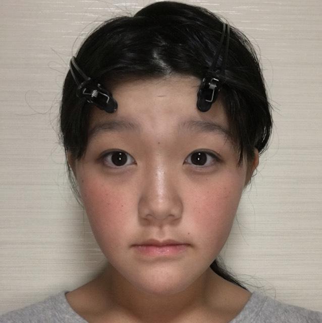 裸眼メイクのAfter画像