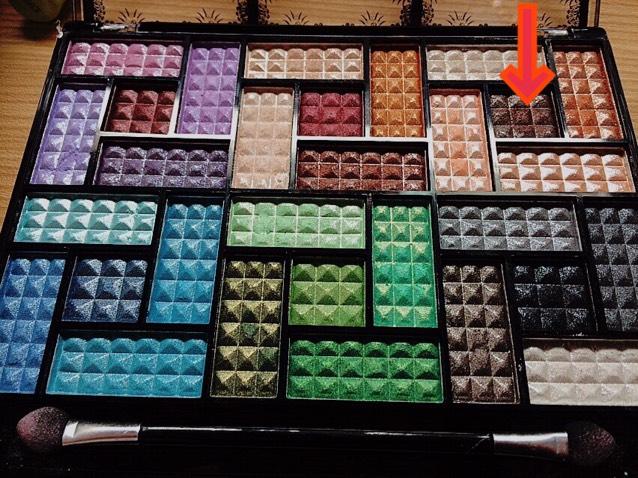 この色でダブルラインをかく。