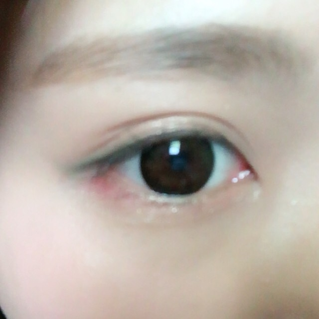こんな感じ。眉毛は眉マスカラのみです。