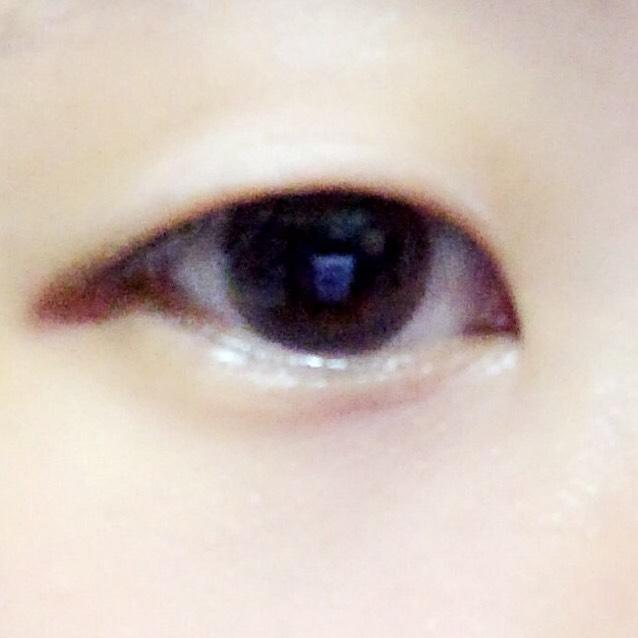 すっぴんです。 目つきが悪くすっぴんでいると睨んでる?とか機嫌悪い?と聞かれてしまいます( 笑 )