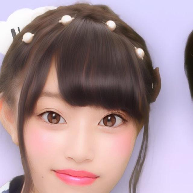 花火大会メイクのAfter画像