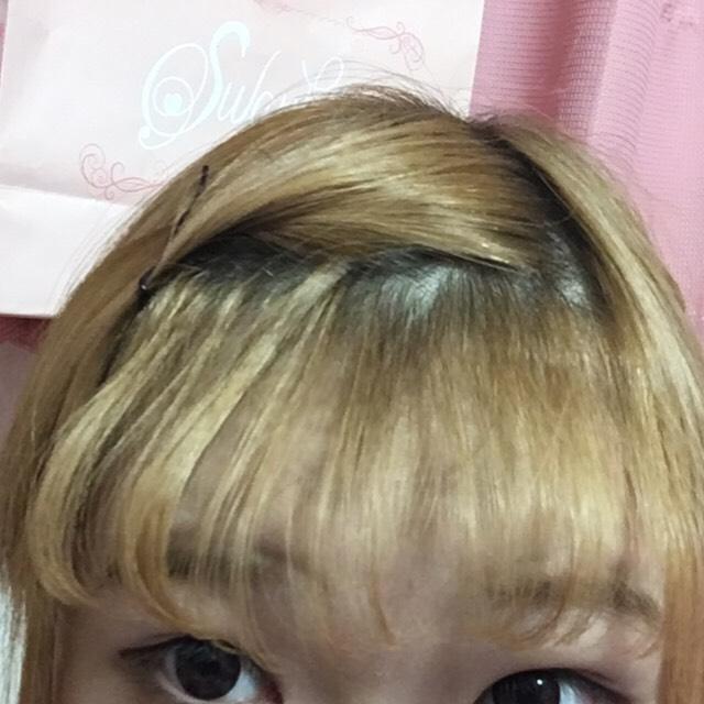 自然なカールにできたらok!オルチャン風前髪の完成です! 私は少し巻きすぎたかもしれません!m(__)m  後は、気になったところを調整してください!