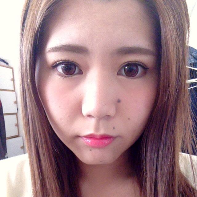 濃い目だけど甘い♡甘カワメイク♡のAfter画像