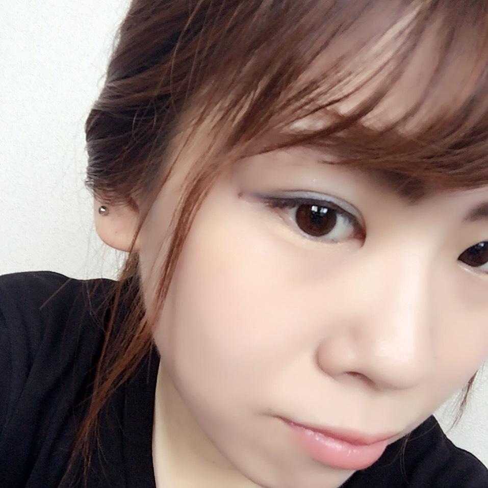 爽やか夏メイク~ブルーアイシャドウ~のAfter画像