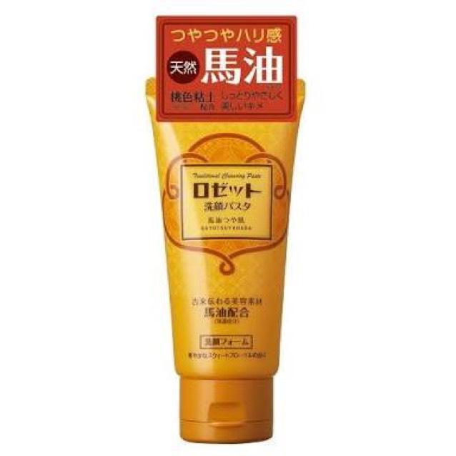 オリーブオイルで洗った後にやはり油分は水で洗い流せないのでロゼットの洗顔を使います、色々な種類がありますが乾燥肌なので馬油を使ってます。 手でも濃密な泡が作れて一般の洗顔料より肌がつっぱりません。