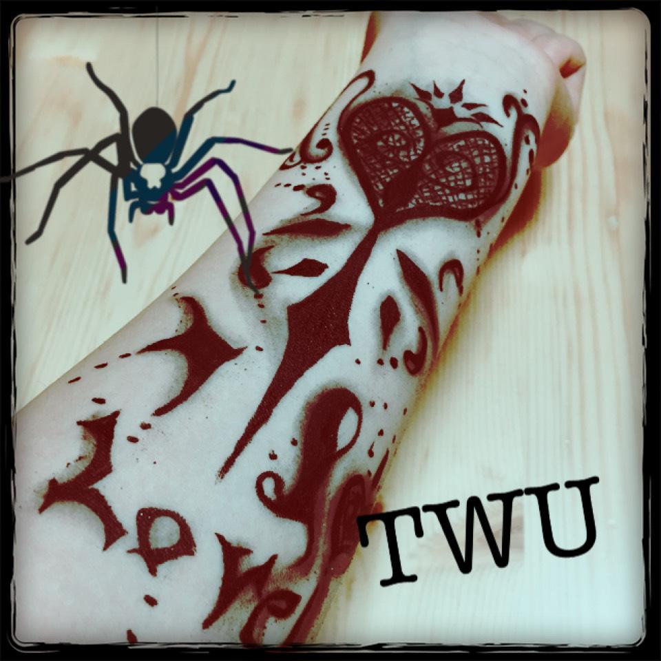 タトゥーをコスメ2つで!のAfter画像