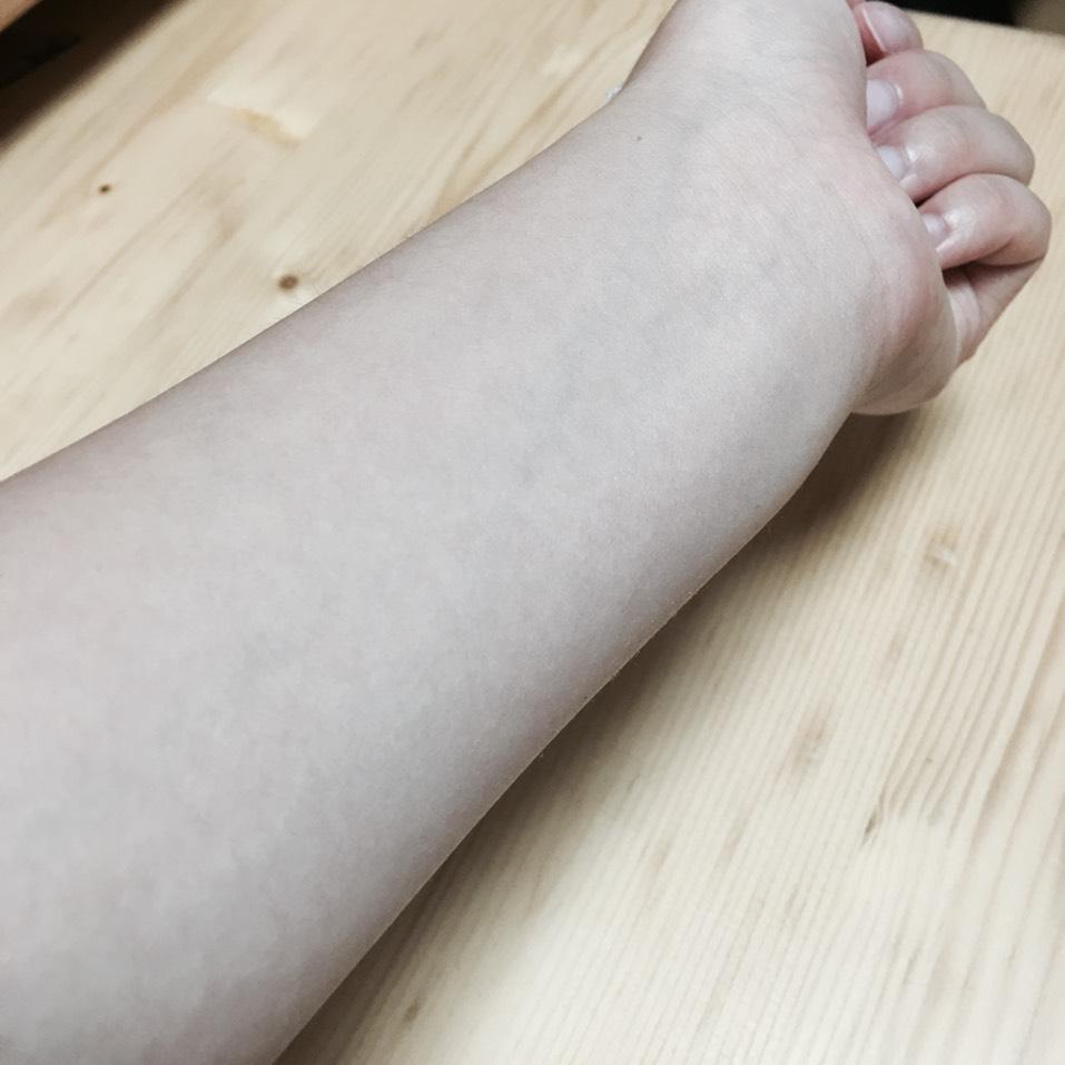 タトゥーをコスメ2つで!のBefore画像