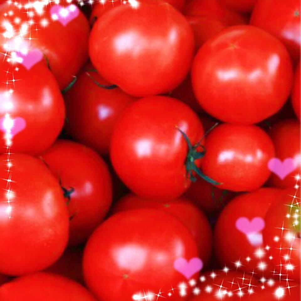トマトメイク(´∇`)