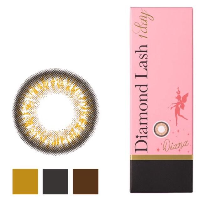 カラコンです! ダイヤモンドラッシュのダイアナ! 黒縁が自然なのと、向日葵みたいな虹彩が素敵だったので選びました!