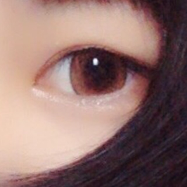 アイメイク♡ 涙袋ぷっくりのBefore画像