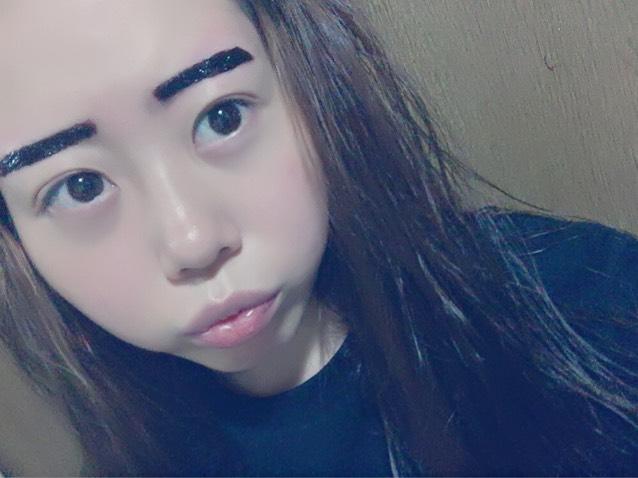 眉ティント レビュー ☆のBefore画像
