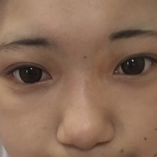 ナチュラルピンクメイク♡のBefore画像