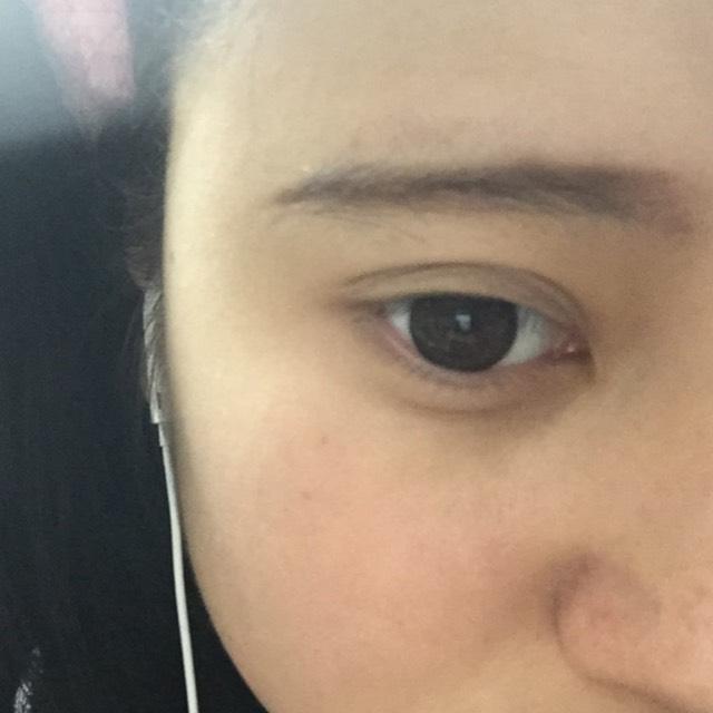 目を開けるとこんな感じになりました。