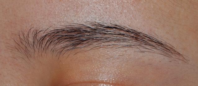 〜眉毛の描き方〜のBefore画像