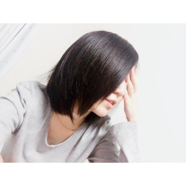 数年ぶりの黒髪のAfter画像
