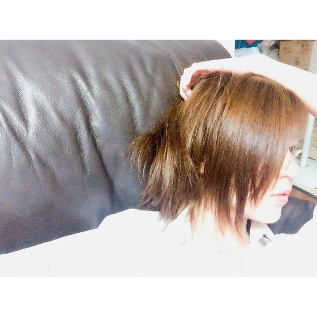 数年ぶりの黒髪のBefore画像