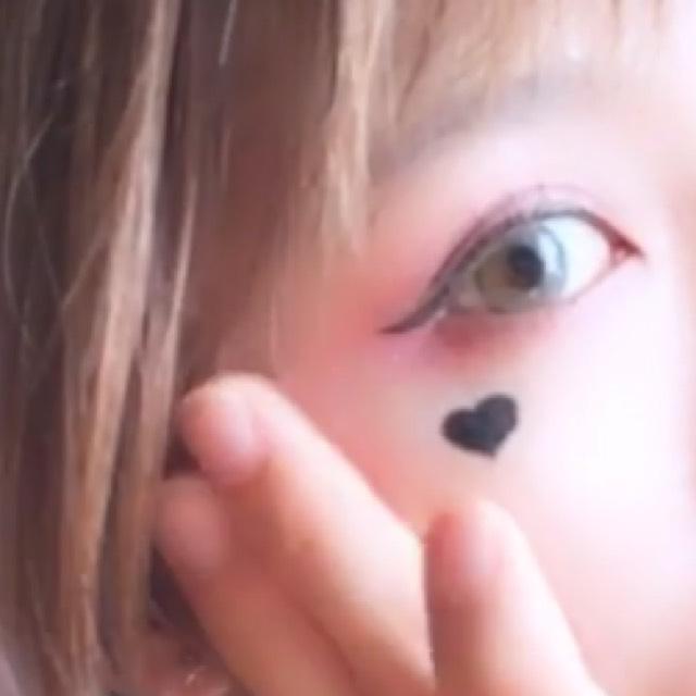 ハロウィン〜ハーレイクイン〜メイクの13枚目の画像