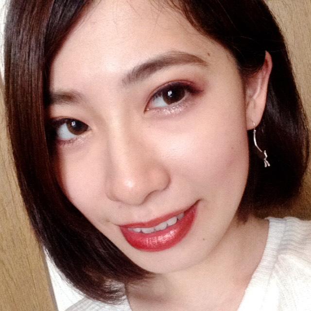 オールレッドメイク♡How to のAfter画像