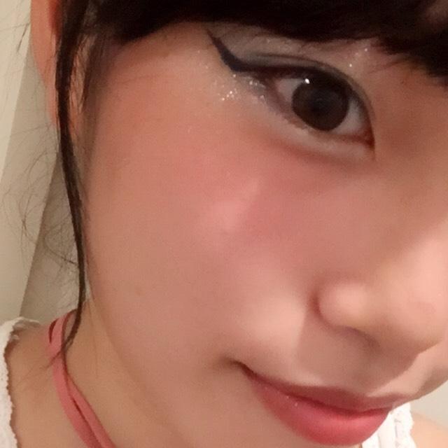 ①cat line makeup finished!!