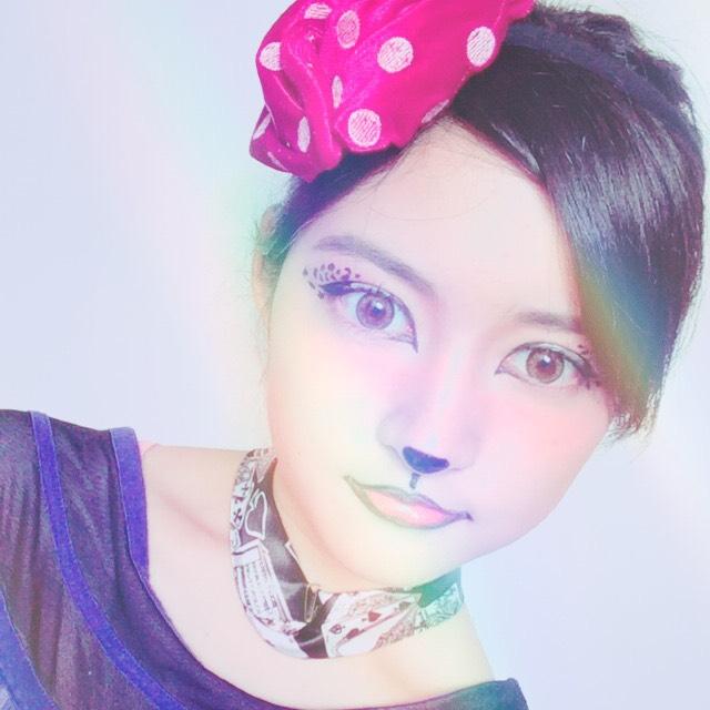 ヒョウ柄ハロウィンメイクのAfter画像