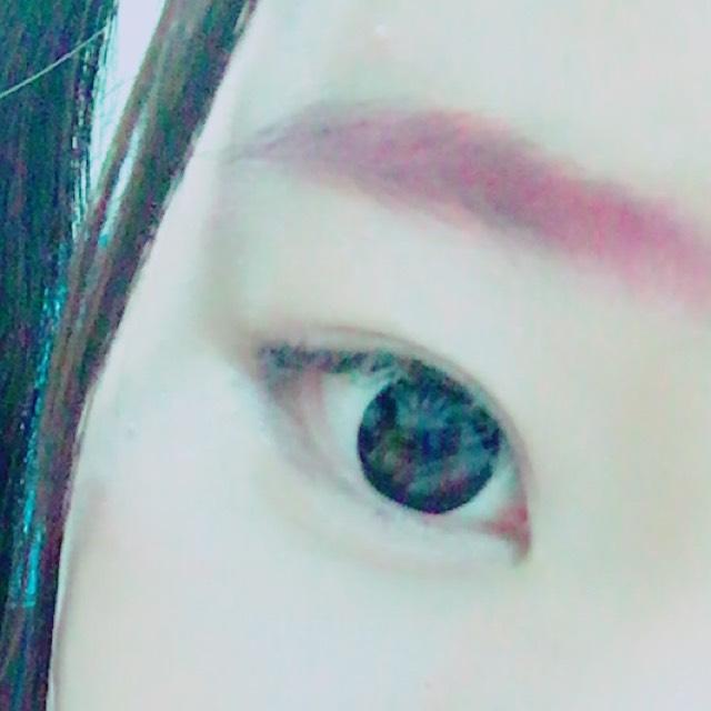 こんな感じでtheピンク!!!って眉毛になります。