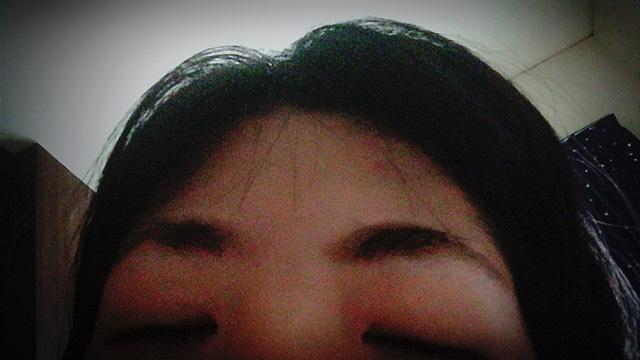 眉毛ティントのAfter画像