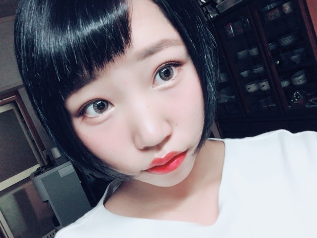 秋メイク(アイメイク濃い)