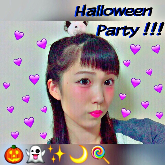 HalloweenParty 派手かわメイクのAfter画像