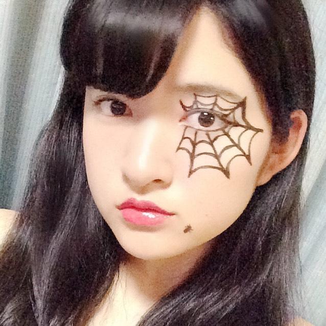 アフター☆ハロウィンメイクのAfter画像
