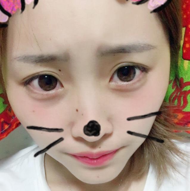 ピンクDE秋メイクのBefore画像