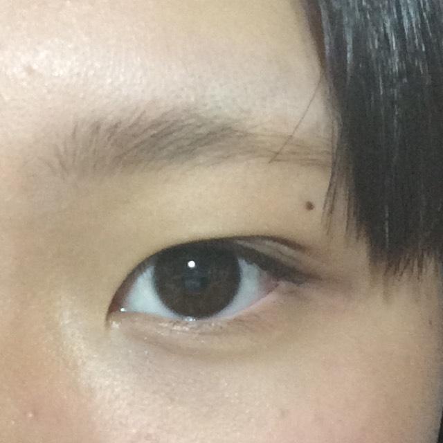 自然な眉の描き方❤︎