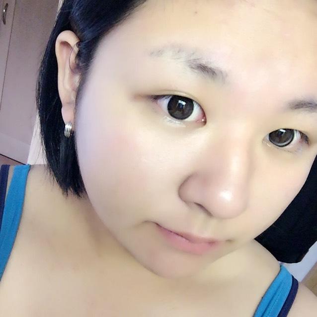 ✩カラコン装着 NEW MY カラコンっ! piel eye black@thepiel 790円!!!